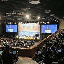 In Bonn wird über Maßnahmen gegen den Klimawandel beraten.