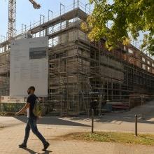 Das ZAQuant auf dem Campus Vaihingen.