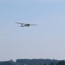 e-Genius on its first flight