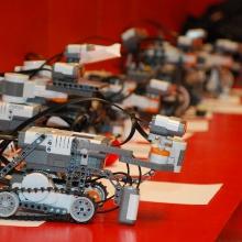 Kleine Lego-Roboter