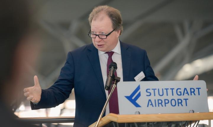 Prof. Ressel auf der SOFIA-Begrüßungsveranstaltung am 15. September 2019.