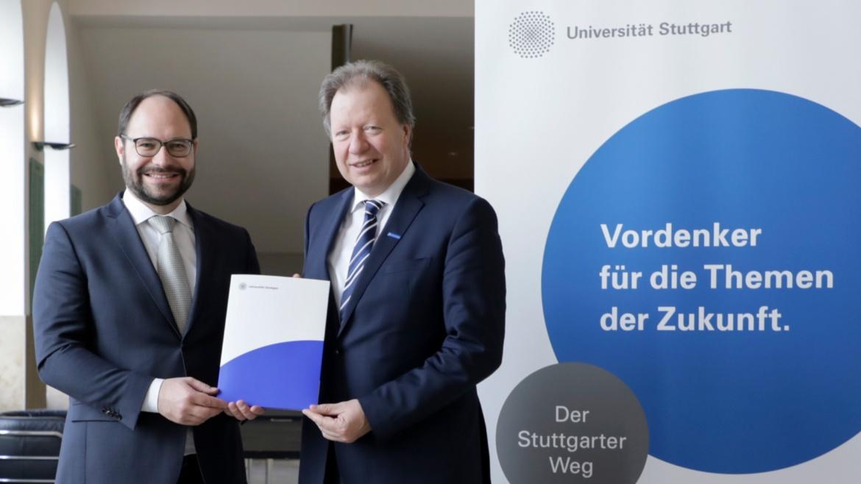 University of Stuttgart and Ferry Porsche Foundation sign ten-year sponsorship agreement