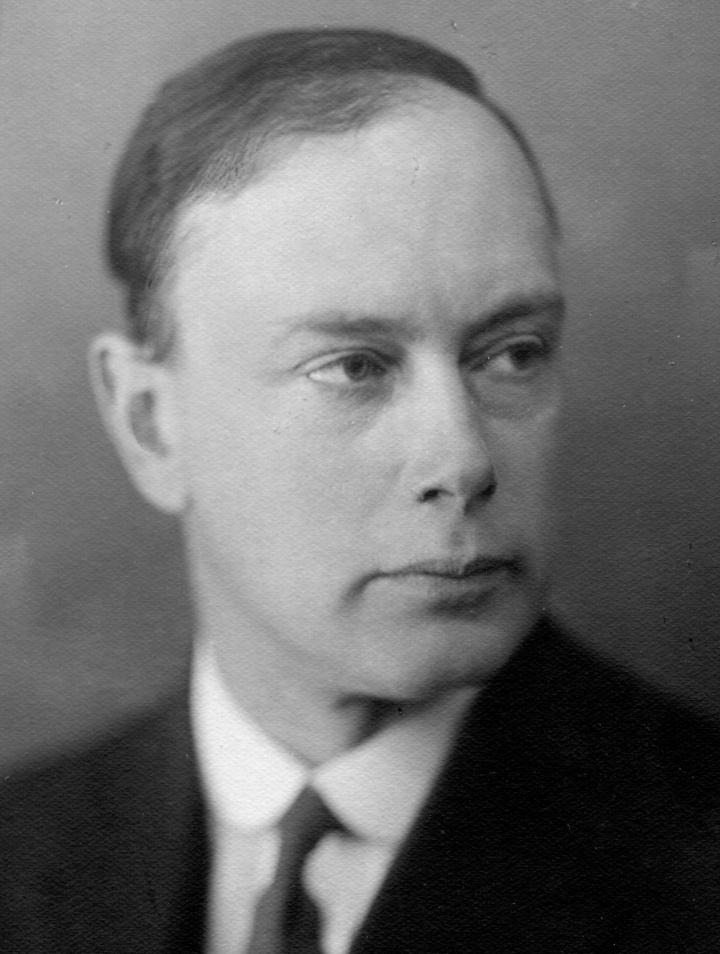 Paul Peter Ewald 1929 als Professor der Technischen Hochschule Stuttgart