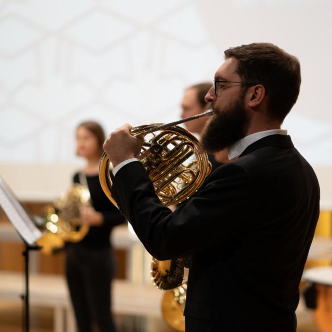 1 Musikalischer Auftakt Jagdhornensemble