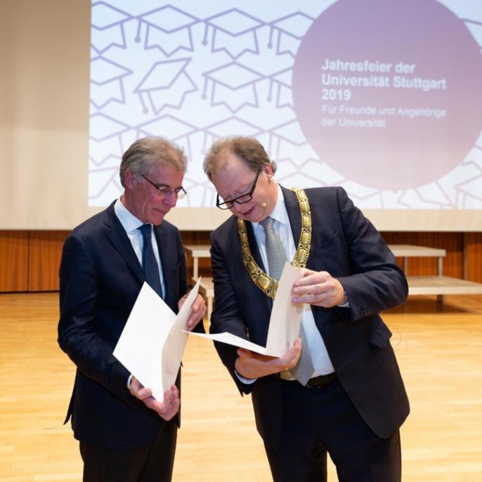 6 Verleihung der Ehrendoktorwürde an Konrad Bergmeister