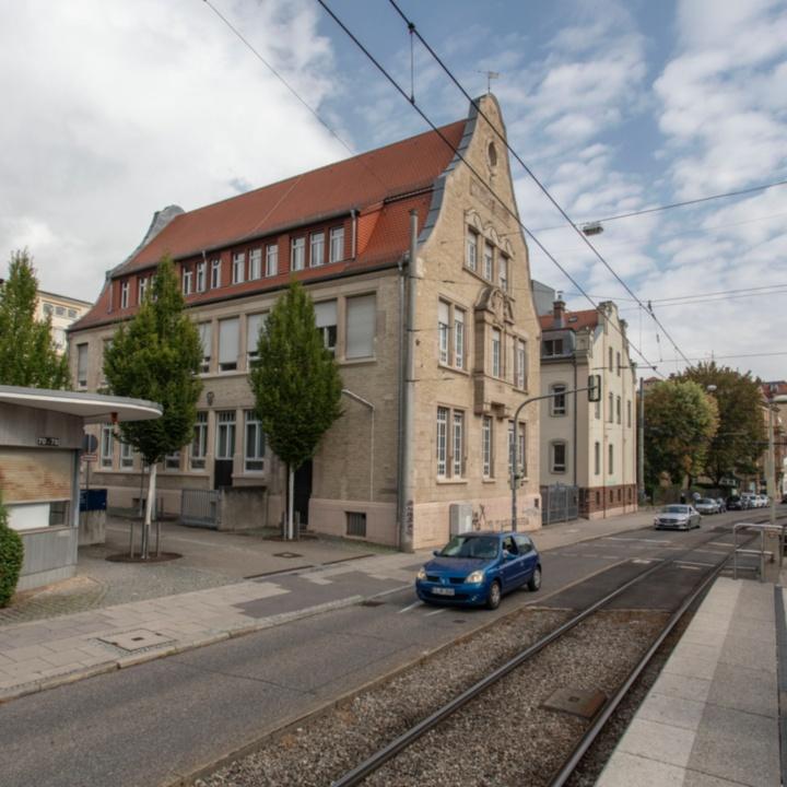 Gabäudeansicht Böblinger Straße 72