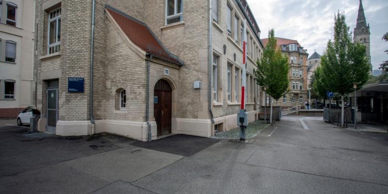Haupteingang Böblinger Straße 72<br/>