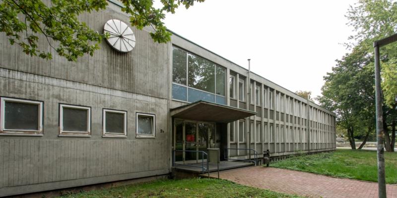 Haupteingang Breitscheidstraße 2b<br/>