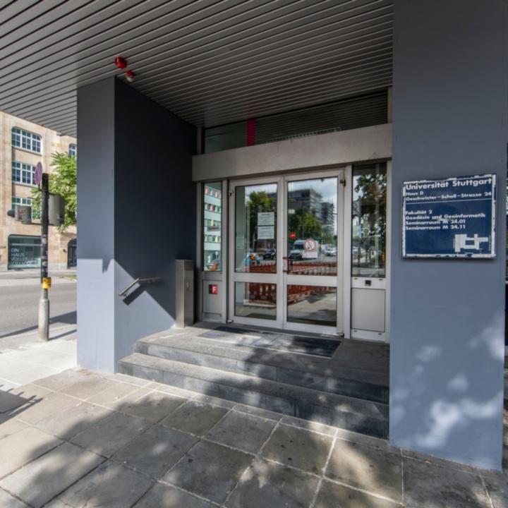 Main Entrance Geschwister-Scholl-Straße 24d