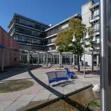 Dieses Bild zeigt: ETI I/Hörsaalzentrum