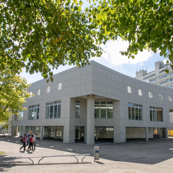 Gebäudeansicht Pfaffenwaldring 53