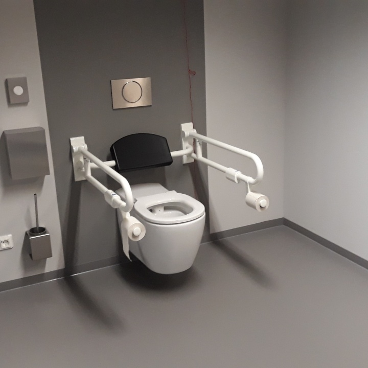 Pfaffenwaldring 57 toilet for disabled persons