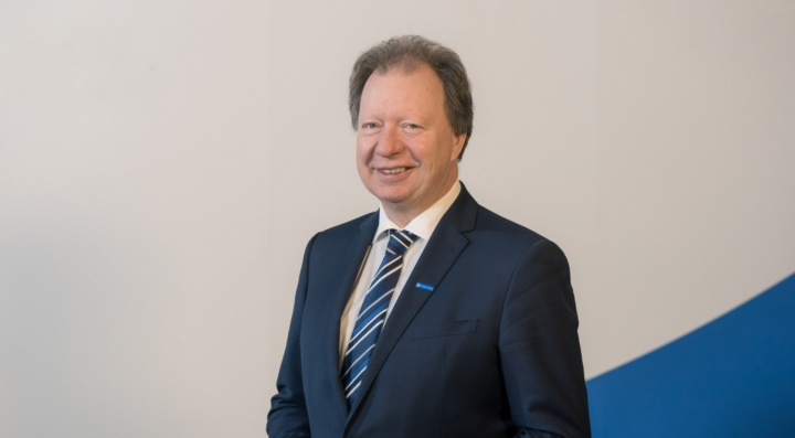 Univ.-Prof. Dr.-Ing. Wolfram Ressel, Rektor der Universität Stuttgart