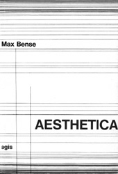 Max Bense, Aesthetica.