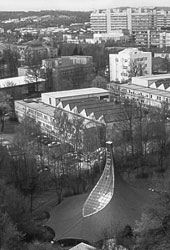 Institut für Leichte Flächentragwerke, Stuttgart 1967/68