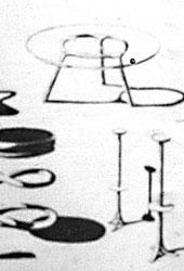 Studienskizzen eines Möbelstücks, Anfang der 1950er