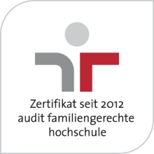 "Press release 12: Die Universität Stuttgart ist als ""familiengerechte Hochschule"" seit 2012 zertifiziert. Copyright:"