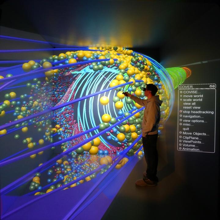 Das HLRS ermöglicht den Forschenden, komplexe Simulationen und hochauflösende Visualisierungen zu generieren. (c)